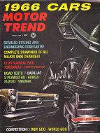 Motor Trend  Aug 1,1965 Magazine