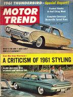 Motor Trend  Dec 1,1960 Magazine
