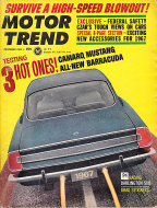 Motor Trend  Dec 1,1966 Magazine