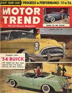 Motor Trend  Feb 1,1954 Magazine