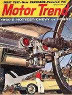 Motor Trend  Feb 1,1960 Magazine
