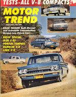 Motor Trend  Feb 1,1961 Magazine