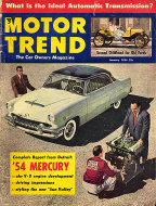 Motor Trend  Jan 1,1954 Magazine