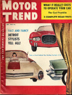 Motor Trend  Jul 1,1954 Magazine