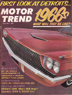 Motor Trend  Jul 1,1965 Magazine