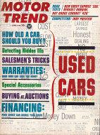 Motor Trend  Jun 1,1965 Magazine