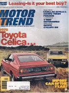 Motor Trend Magazine April 1976 Magazine
