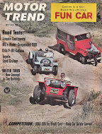 Motor Trend Magazine July 1963 Magazine