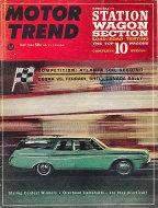 Motor Trend Magazine July 1964 Magazine