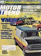 Motor Trend Magazine July 1976 Magazine