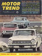 Motor Trend Magazine June 1964 Magazine