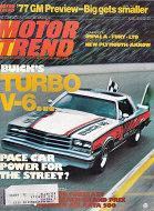 Motor Trend Magazine June 1976 Magazine