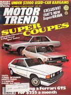 Motor Trend Magazine June 1978 Magazine