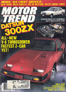 Motor Trend Magazine November 1983 Magazine