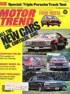 Motor Trend Magazine October 1976 Magazine