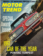 Motor Trend  Mar 1,1961 Magazine