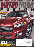 Motor Trend  Mar 1,2012 Magazine