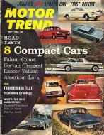 Motor Trend  May 1,1961 Magazine