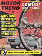 Motor Trend  May 1,1965 Magazine