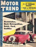 Motor Trend  Nov 1,1954 Magazine