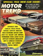 Motor Trend  Nov 1,1961 Magazine