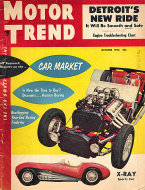 Motor Trend  Oct 1,1954 Magazine