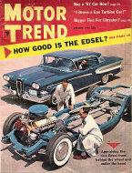 Motor Trend  Oct 1,1957 Magazine