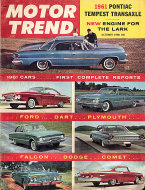 Motor Trend  Oct 1,1960 Magazine