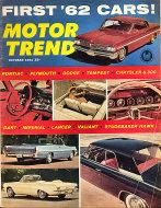 Motor Trend  Oct 1,1961 Magazine