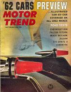Motor Trend  Sep 1,1961 Magazine