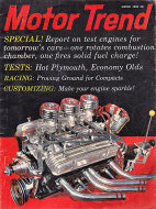 Motor Trend Vol. 12 No. 3 Magazine