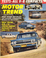 Motor Trend Vol. 13 No. 2 Magazine
