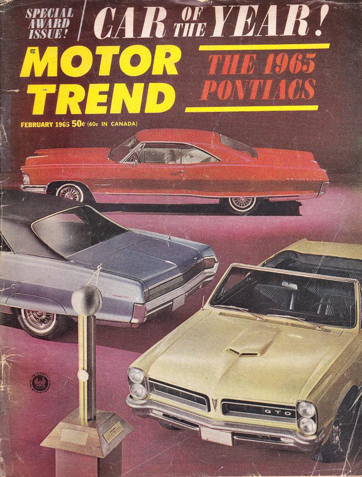 Motor Trend Vol. 17 No. 2