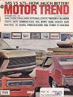 Motor Trend Vol. 19 No. 9 Magazine