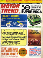 Motor Trend Vol. 25 No. 11 Magazine