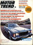 Motor Trend Vol. 25 No. 8 Magazine