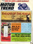 Motor Trend Vol. 26 No. 2 Magazine