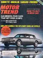 Motor Trend Vol. 27 No. 5 Magazine
