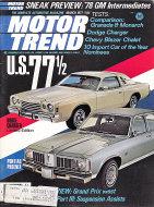 Motor Trend Vol. 29 No. 3 Magazine