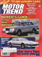 Motor Trend Vol. 30 No. 4 Magazine