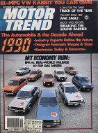 Motor Trend Vol. 32 No. 1 Magazine