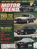 Motor Trend Vol. 32 No. 9 Magazine
