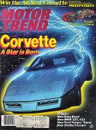 Motor Trend Vol. 35 No. 3 Magazine