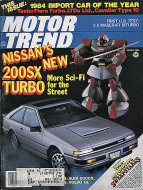 Motor Trend Vol. 36 No. 3 Magazine