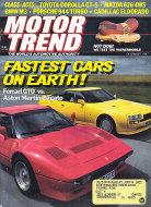 Motor Trend Vol. 39 No. 13 Magazine