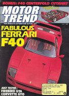Motor Trend Vol. 40 No. 7 Magazine