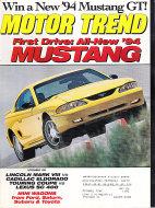 Motor Trend Vol. 45 No. 11 Magazine