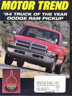 Motor Trend Vol. 45 No. 12 Magazine