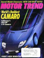 Motor Trend Vol. 46 No. 3 Magazine