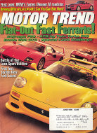 Motor Trend Vol. 48 No. 6 Magazine